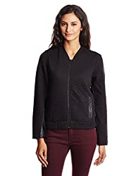 Lee Womens Cotton Body Blouse Sweatshirt (LESS1672_Black_Large)