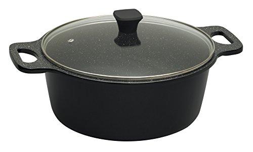 prestige-stone-quartz-28-cm-casserole-black
