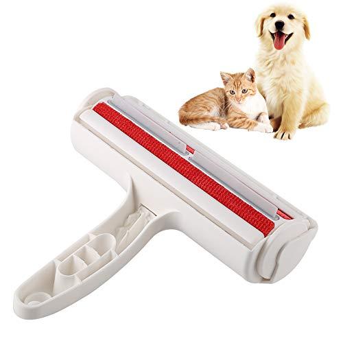 Smandy Cepillo de Limpieza para el Cabello para Mascotas, removedor de Pieles, Pelusa, Cepillo, Perro, Gato, Animales, removedor de Pelo para la Ropa del automóvil Sofá sofá, alfombras