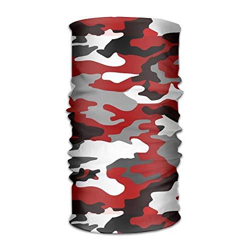 ed Camouflage Headband Bandana,Outdoor Headwear,Magic Scarf 19.7x9.85inch(50x25cm) ()