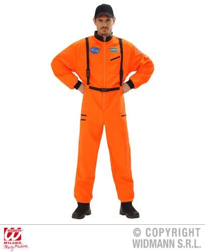 KOSTÜM - ASTRONAUT - orange, 54 (Männer Astronaut Kostüme)