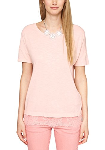 s.Oliver 14.505.32.2752 - T-shirt - Femme Orange (Powder Peach 2000)
