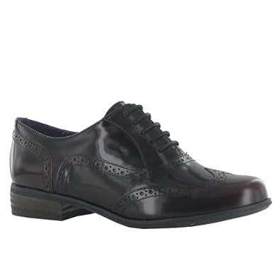 Clarks Hamble Oak Wine Leather Womens Shoes Size 39.5 EU