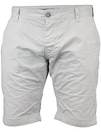 d86855afa2 Mens Chino Shorts Smith & Jones Knee Length Half Pants Cotton Roll Up Summer