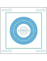 Caja de 100 Dianas 14 x 14 cm Gamo, clase F, ideal para carabinas y pistolas de aire comprimido, 6212109
