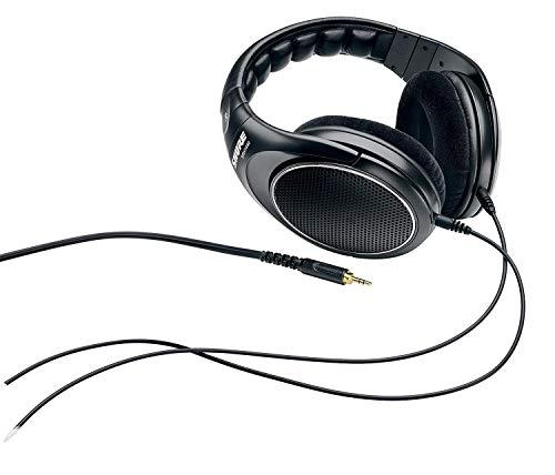 Shure SRH1440, offener Kopfhörer / Over-ear, schwarz, Premium, geräuschunterdrückend, austauschbares Kabel, Velourpolster, natürliche Wiedergabe, erweiterter Übertragungsbereich, linearer Frequenzgang - 5