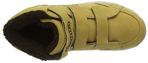 Kappa  LOOK K Footwear Kids, Synthetic, Baskets pour garçon Multicolore - Mehrfarbig (4141 BEIGE)