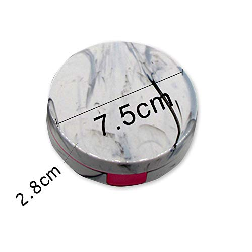 YUEKAIHU Kontaktlinsen-Kasten-Reise-Glas-Linsen-Kasten Für Unisexaugenpflege-Ausrüstungs-Halter-Behälter-Stützgeschenk