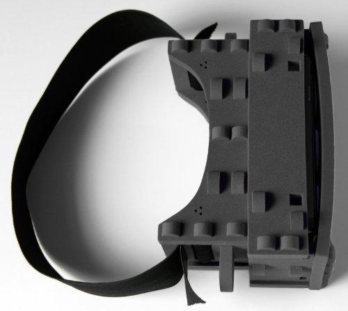 VR-Brille Stooksy VR-Spektiv, Schwarz, jetzt mit Neodym-Magnetschalter