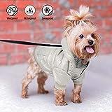 Namsan - Ropa Impermeable y Resistente al Viento, para Mascotas, Cachorro, Perro, Abrigo de Invierno cálido