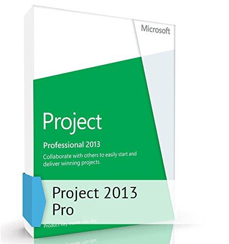 Microsoft Project 2013 Professional 1 PC Vollversion Lizenz Downloadversion (Visio 2010 Ms)