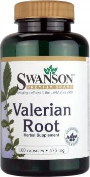 Valerian Root (475mg, 200 Capsules) from swanson