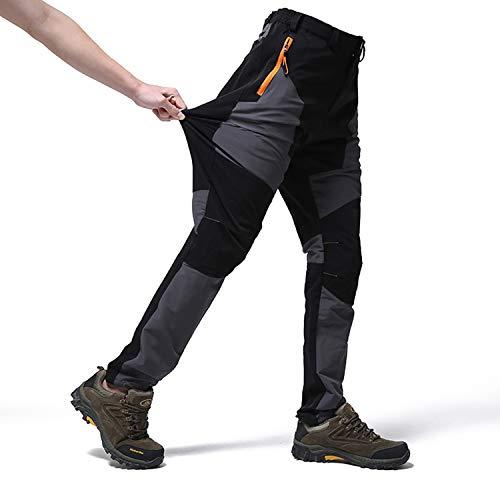 7VSTOHS Pantalones Impermeables Senderismo Pantalones