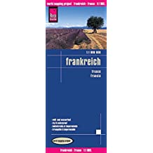 Reise Know-How Landkarte Frankreich (1:1.000.000): world mapping project