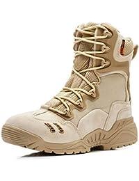 Stivali Invernali da Uomo Autunno Militare Stivali da Lavoro  Antinfortunistici da Combattimento. Scarpe Tattiche Impermeabili 2030a8d6119