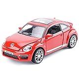 Modèle De Voiture De Voiture en Alliage Modèle De Voiture De Jouet pour Enfants Volkswagen Beetle (Couleur : Rouge)