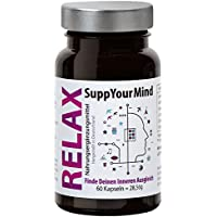 Preisvergleich für Pflanzlicher Schlaf Optimierer, Anti Stress und Stimmungsaufheller | Ashwagandha und 5-HTP| Beruhigungstabletten...