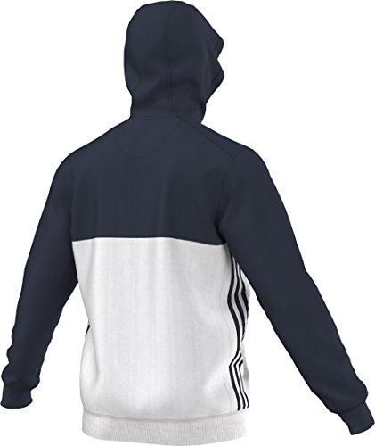 adidas Herren Hoody T16 Navy Blau/Weiß