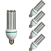 Lámpara Bombilla Led 4U Tubo E27 16W (4200K luz día) ...