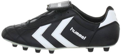 Hummel Old School Fgc Synthetic 61-085-2560, Unisex - Erwachsene Sportschuhe - Fußball, Schwarz (BLACK/WHITE/VANILLA CUSTARD 2560), EU 40.5 (UK 7) -