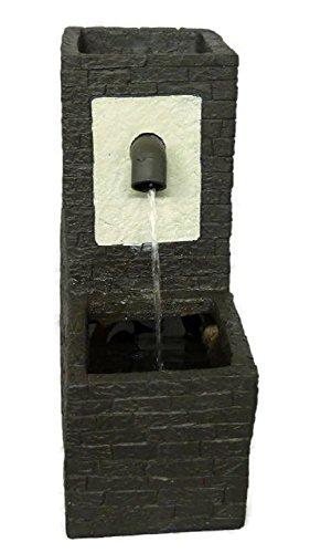 Zimmerbrunnen mit integriertem Pflanzgefäß Botanica Hargnies 30 cm LED Warmweiß Beleuchtung Zimmerbrunnen Mit Pflanze