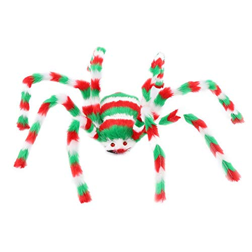 Spider Halloween Plush - Red Green - 50-75 cm 19-29""