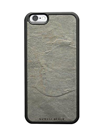Pietra reale cassa del telefono mobile per iPhone 6 / 6s , fatta di ardesia di alta qualità, Number Black-Classic