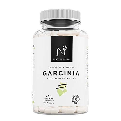 Garcinia Cambogia+L-Carnitina+Té verde, quemagrasas natural efectivo. La mejor fórmula Quemagrasas para adelgazar. Fórmula de máxima calidad con alta concentración de HCA 60{c7dc85a26018706843667a6718b1fcf011cf673ec26418eb5c66a67243f8ea5c}. 180 cápsulas.