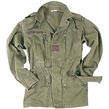 Militär b F1 F2 - Chaqueta de piel usada Talla:M
