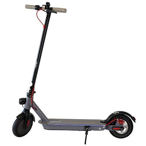 Hiboy E-Scooter Elettrico Adulto - Monopattino Elettrico Pieghevole, Raggiungimento di 30 km, 25 km/h, Modello Hi, Nero
