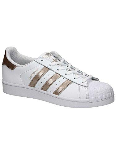 Adidas Superstar Damen Sneaker Weiß/Gold
