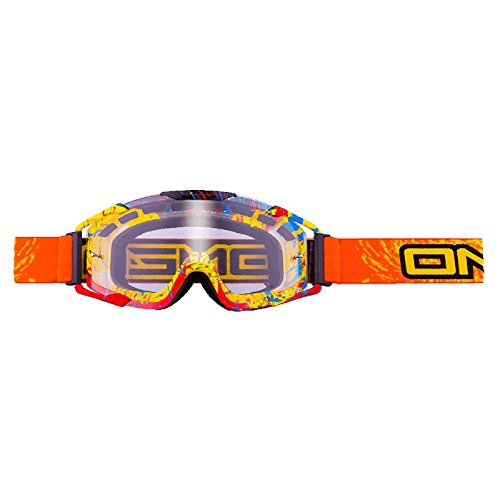 O'Neal B2 RL Goggle Spray Orange Brille Motocross Downhill MX DH FR Quad Enduro, 6032S-103 -