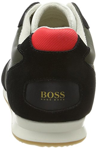 Boss Orange Orland_Lowp_sdny, Sneakers Basses Homme Vert (Open Green)