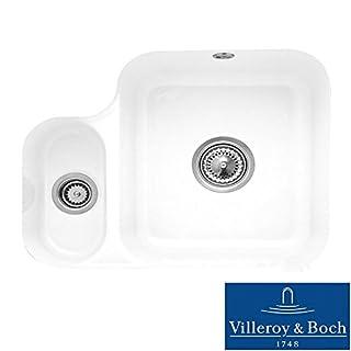 Villeroy & Boch Cisterna 60b 1.5 Bowl White Ceramic Undermount Kitchen Sink - NO WASTE