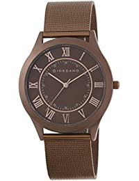 Giordano Analog Brown Dial Men's Watch