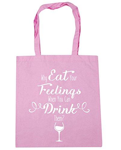 HippoWarehouse ,  Damen Strandtasche Gr. One size, rosa Rose Pink Depression Glass