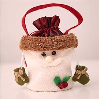 Navidad Papá Noel Muñeco de Nieve Elk Bolsas de Caramelos Nochebuena Bolsa de Manzana Bolsas de Regalo Decoraciones navideñas
