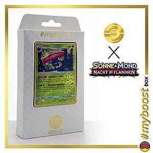 Giflor (Vileplume) 6/147 Holo Reverse - #myboost X Sonne & Mond 3 Nacht in Flammen - Box de 10 Cartas Pokémon Aleman