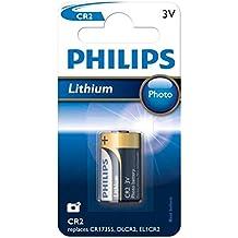 Philips CR2 CR2/3V de litio Pila para fotografía, Lithium Polymer, Li, 3 V, 25 g, 80 x 123 x 15 mm, CR2, 205 x 260 x 100 mm