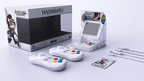 Neo Geo Mini Samurai Shodown Limited Edition Bundle-Haohmaru