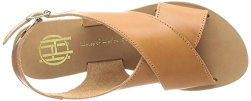 House of Harlow 1960 Izzy, Sandales femme Marron (Cuoio Leather)