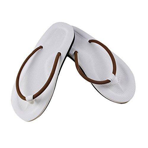 Tonsee Chausson simple tongs chaussons sandales plage maison d'été Marron
