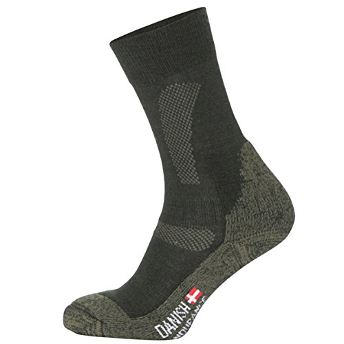 DANISH-ENDURANCE-Rendimiento-Calcetines-de-Lana-Merino-Para-Todas-Las-Estaciones-Verde-FOREST-GREEN-EU-35-38-UK-3-6