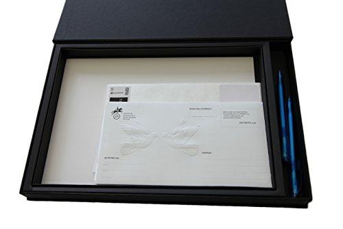 Zeitbote Liebesbrief-Paket - Liebesbriefe für das Brautpaar zum 7. Hochzeitstag - Besonderes Hochzeitsgeschenk - Zeitkapsel zur Hochzeit - Briefversand bis zu 7 Jahre später