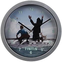 Lata lata Reloj De Pared - Disponible en 2 Diseños - Nevada Tintin y Capitán Haddock