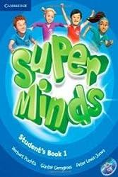 Super minds 1 (students +dvd) [ Livre importé d´Espagne ]