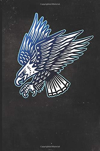 Journal: Patriotic Bald Eagle Tattoo Design Dot Grid Tattoo Flash Sketching Journal (Sailor Jerry Flash)
