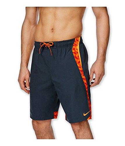 Herren Nike Swim Trunks (Nike Men 's Drift Anker Splice Volley 9inch Schwimmen für Herren, Herren, Kohle (ClassicCharcoal))