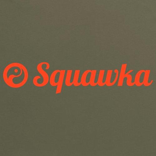 Squawka Logo T-Shirt, Damen Olivgrn