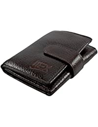 IMex Men's Brown Trifold Genuine Leather Wallet